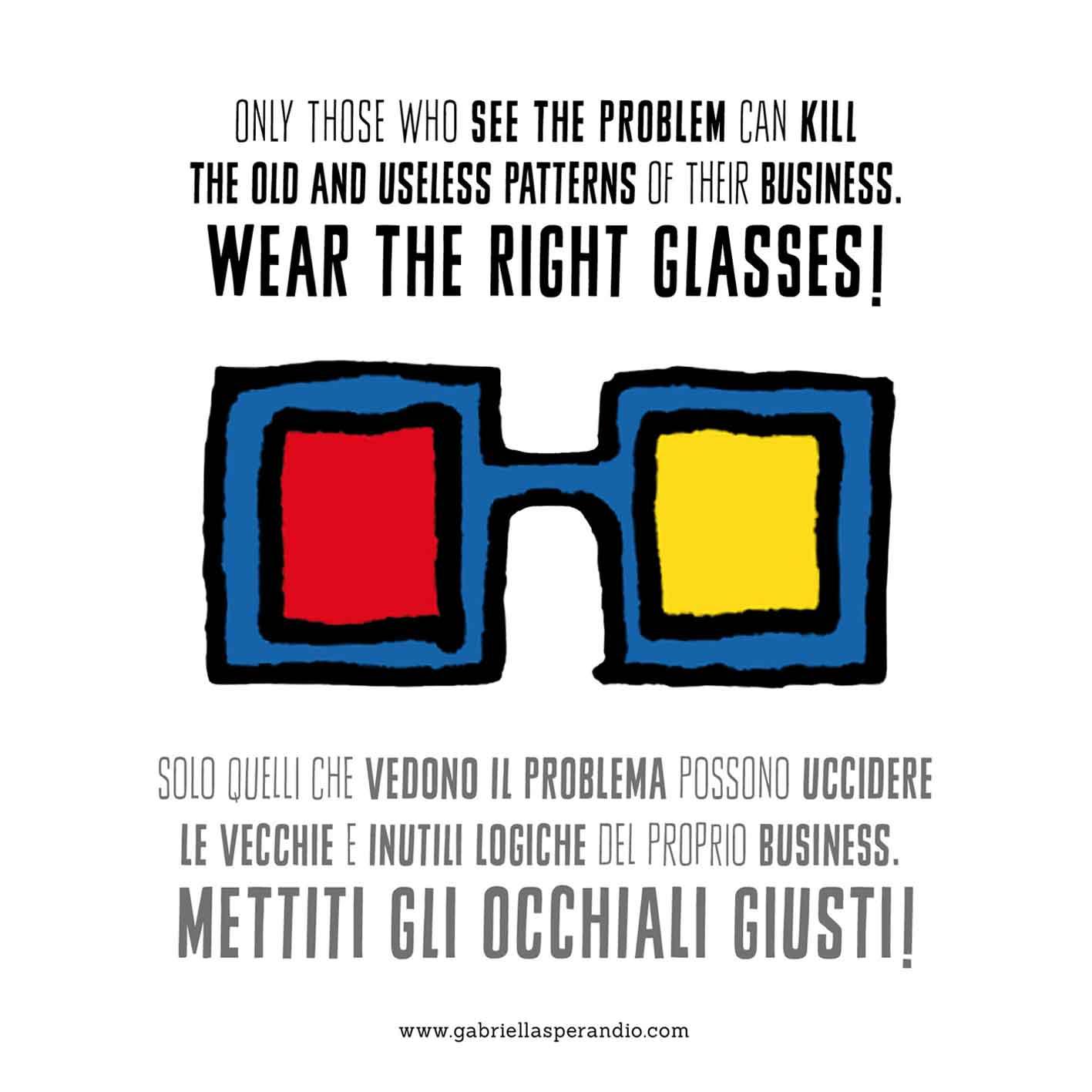 Grafica Observe della designer di Teramo Gabriella Sperandio