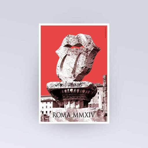 Rolling Stones Roma - GGIdeas